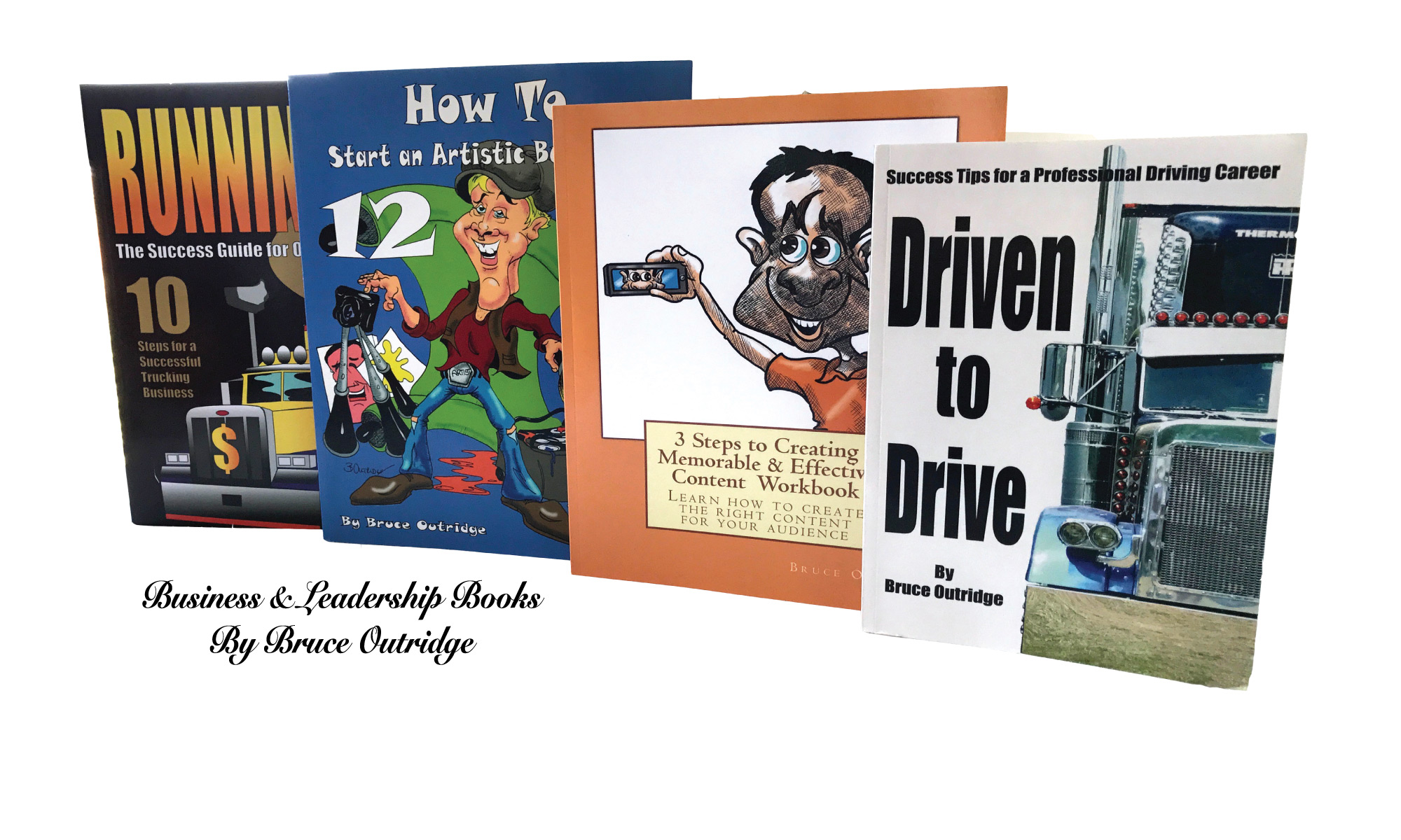 Books by Bruce Outridge