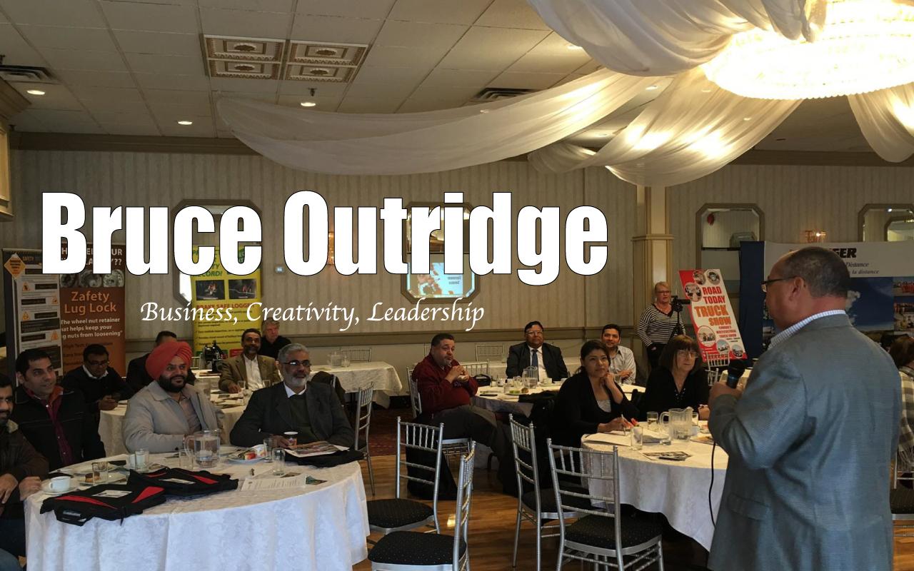 Speaker-Bruce Outridge