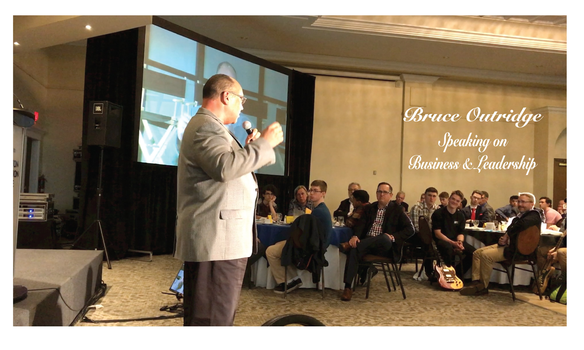 Bruce Outridge Speaking
