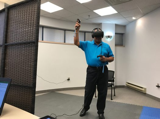 Bruce in virtual reality