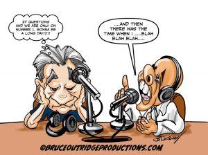 Runaway Guest Cartoon by Bruce Outridge