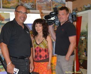 Karlene, Bruce, and James