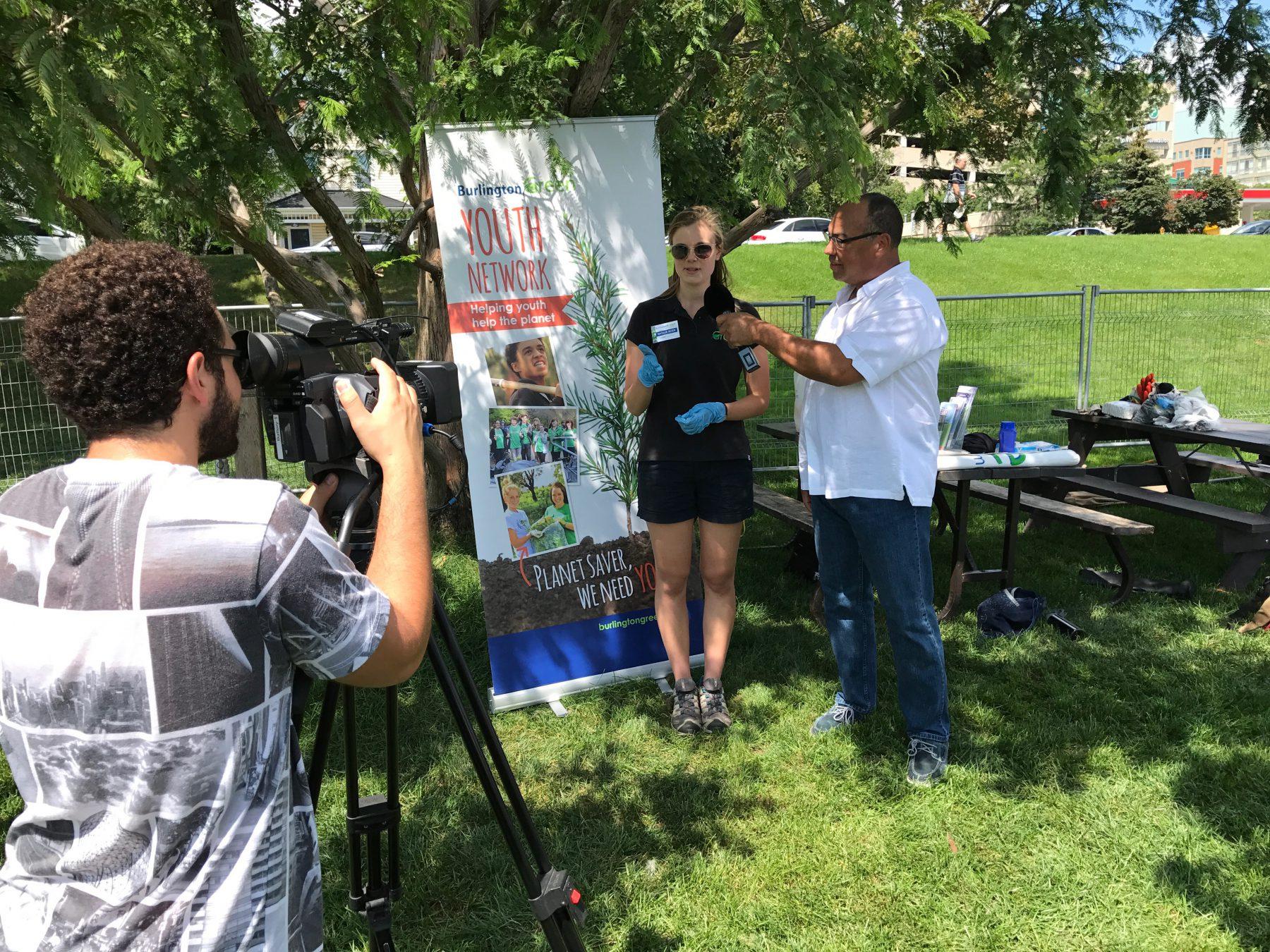 Bruce interviews Natalie Secen