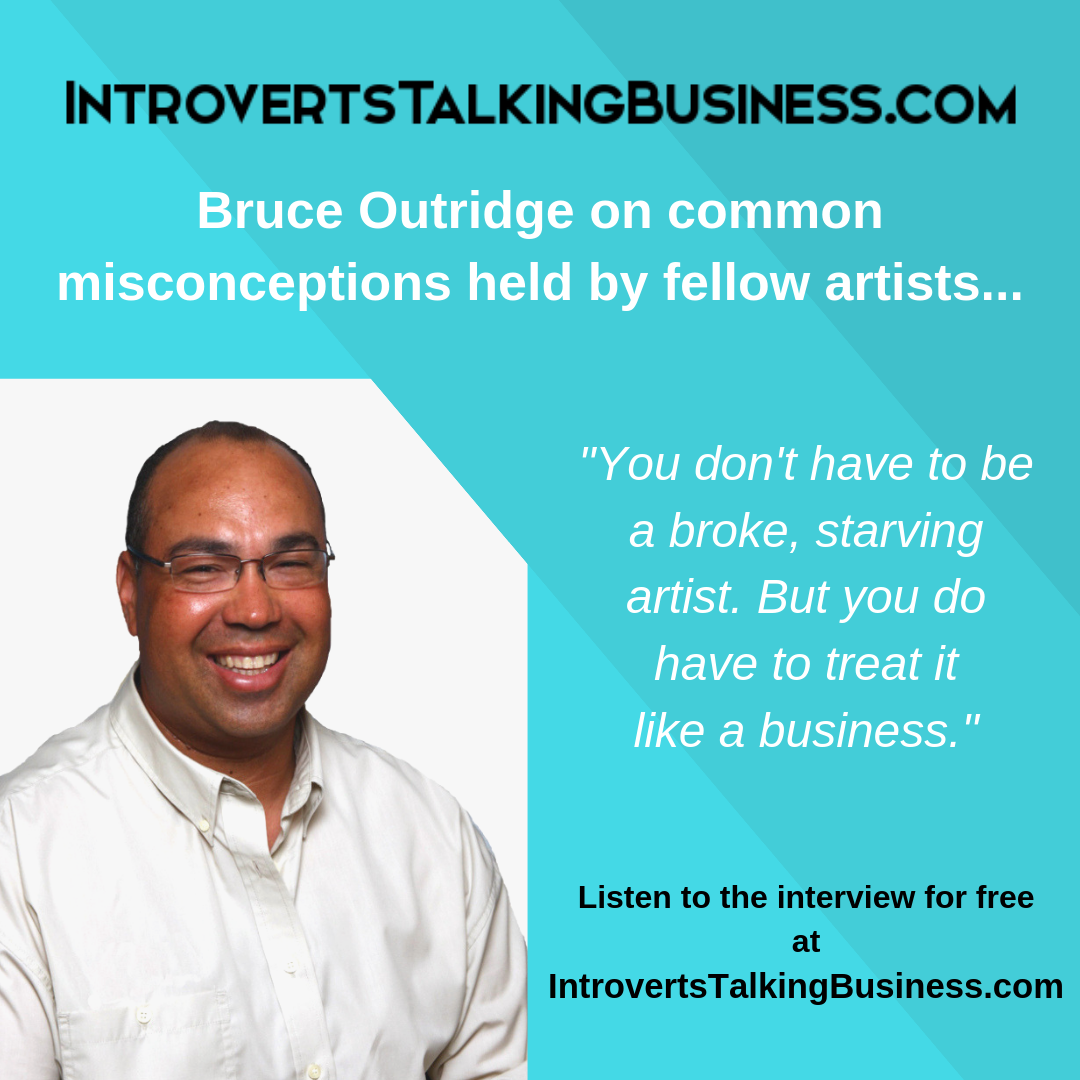 Bruce Outridge Is Interviewed for Introverts Talking Business Podcast