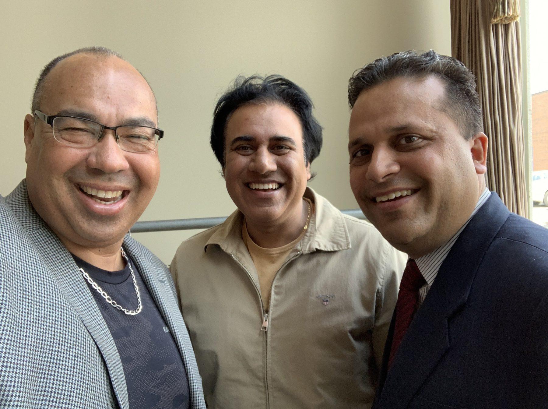 Bruce, Deepak, and Manan-ATS
