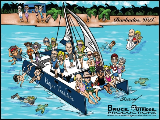 Barbados Painting by Bruce Outridge