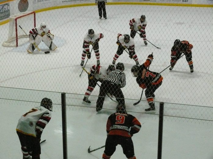 Hockey Game Picture