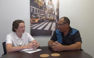 Interviewing jake