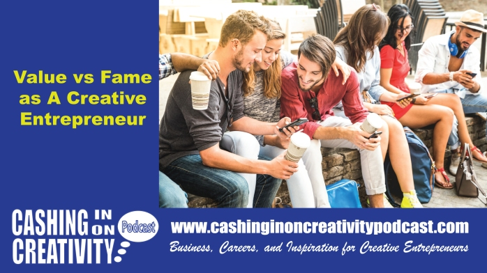 fame-Cashingin on Creativity Podcast